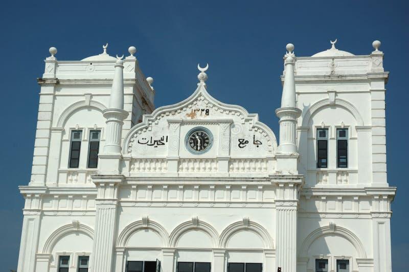 Moskee in Galle, Ceylon royalty-vrije stock foto's
