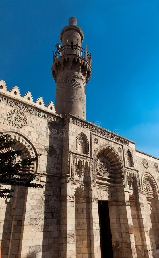 Egyptische Moskee royalty-vrije stock foto