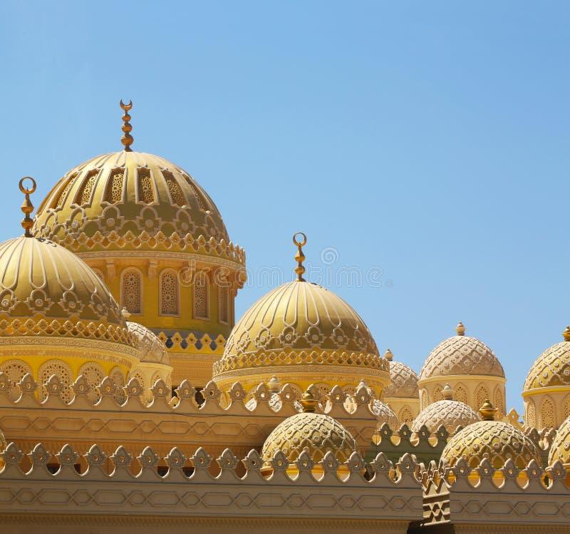 Moskee in Hurgada, Egypte royalty-vrije stock fotografie