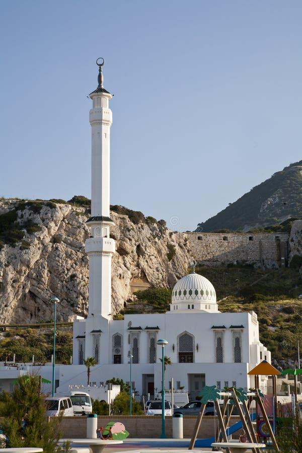 Moskee Ibrahim-al-Ibrahim op Europa Punt royalty-vrije stock fotografie