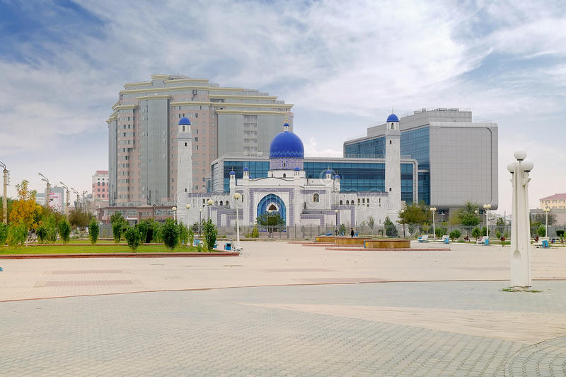 Moskee Imangali stock fotografie