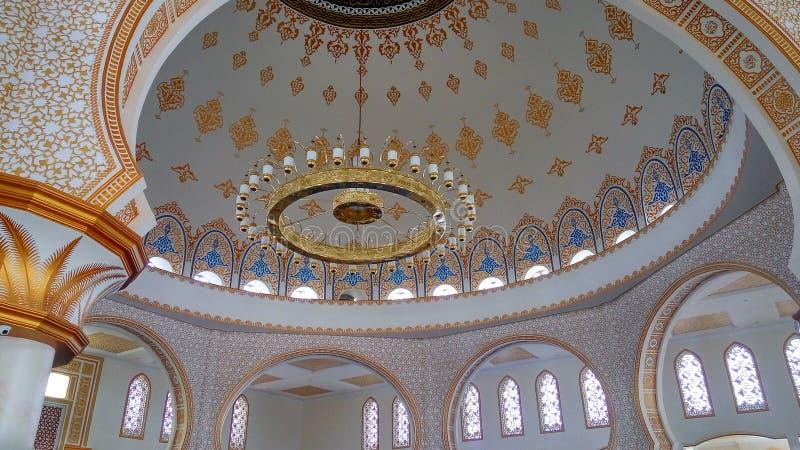Moskee in Indonesië stock afbeelding