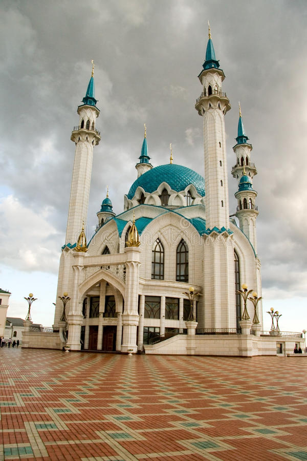 Moskee. Kazan stock foto's