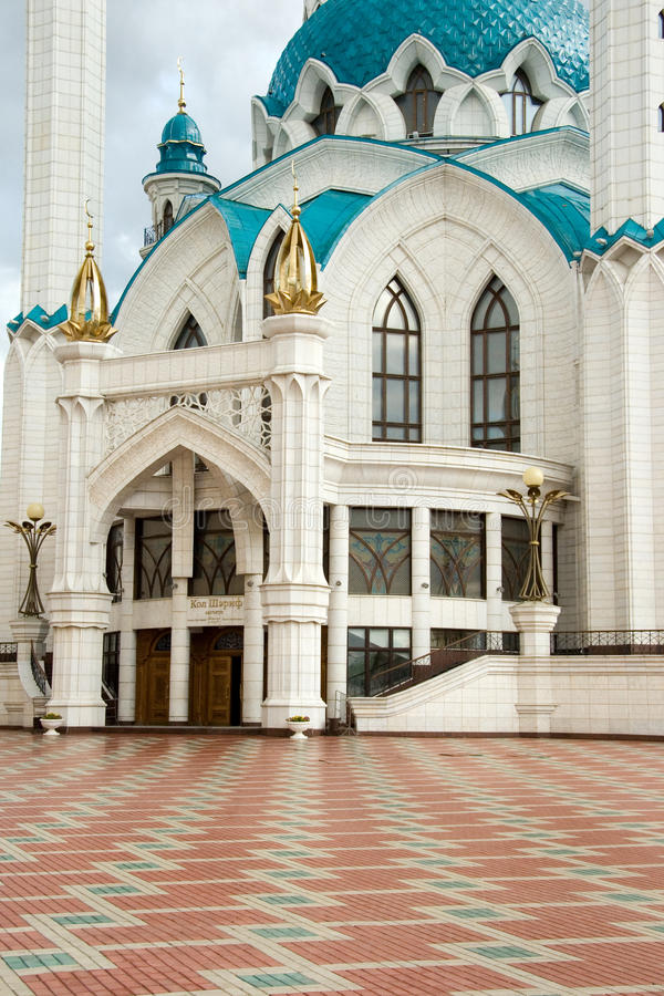 Moskee. Kazan stock afbeeldingen