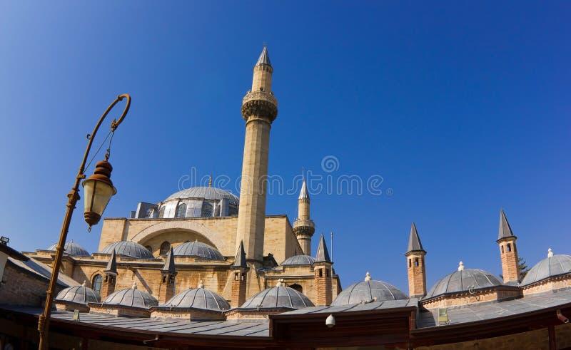 Moskee in Konya royalty-vrije stock afbeeldingen