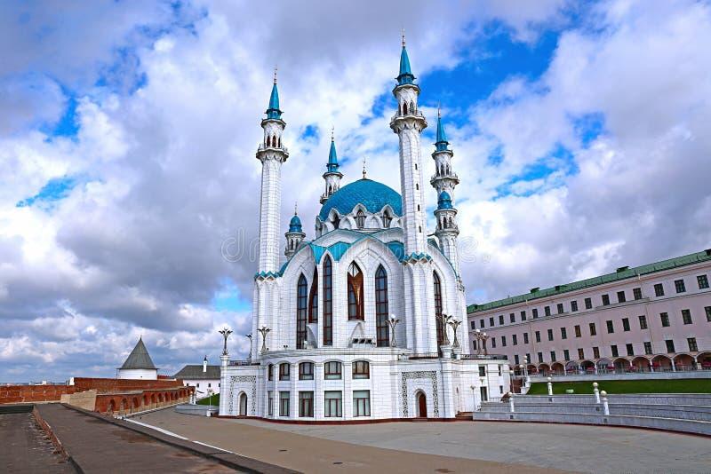 Moskee kul-Sharif in Kazan het Kremlin stock fotografie