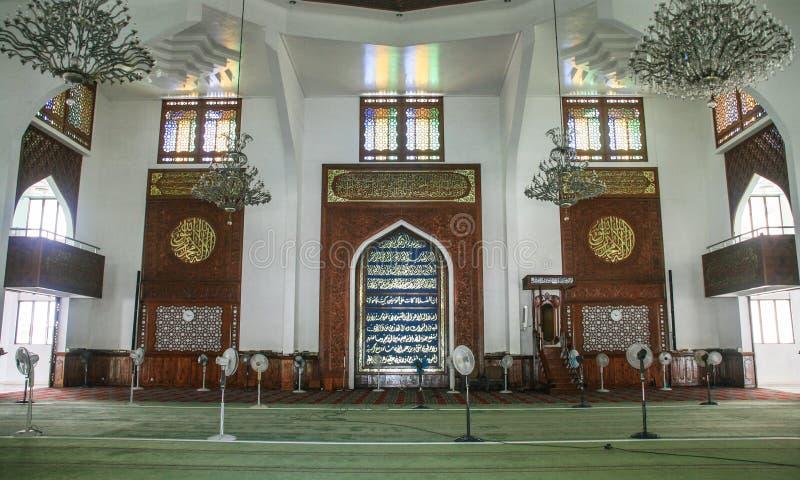 Moskee in mannetje, de Maldiven stock foto