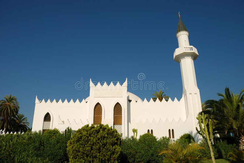 Moskee in Marbella stock fotografie
