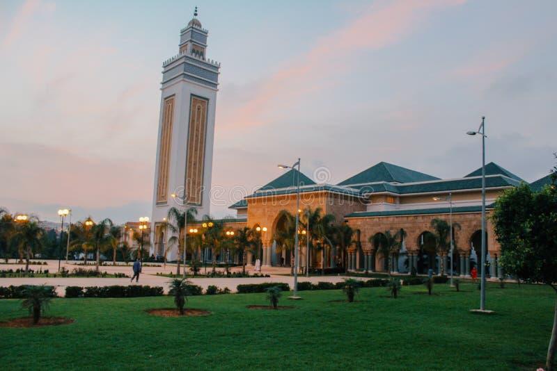 Moskee in Marokko stock fotografie