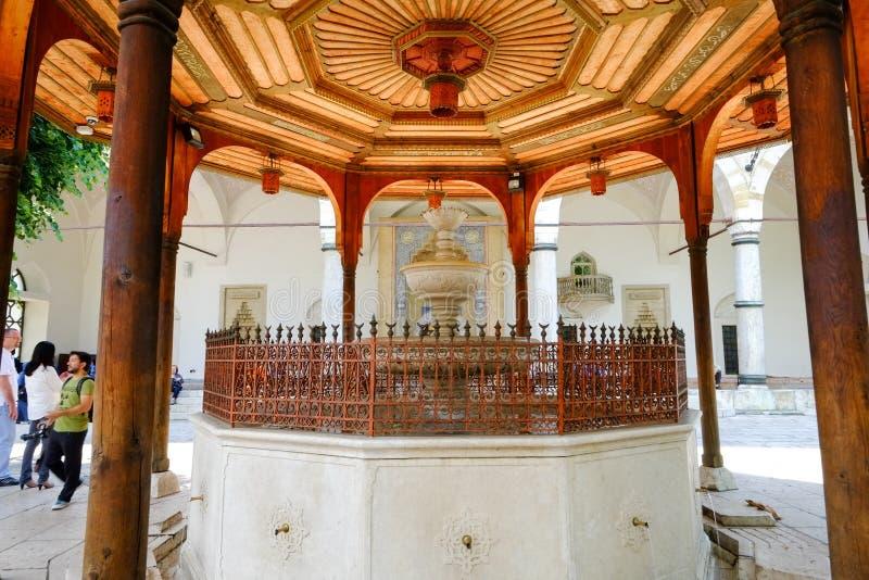 Moskee in Sarajevo royalty-vrije stock afbeeldingen