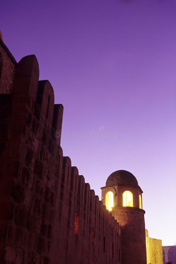 Moskee Sousse, Tunesië royalty-vrije stock foto's