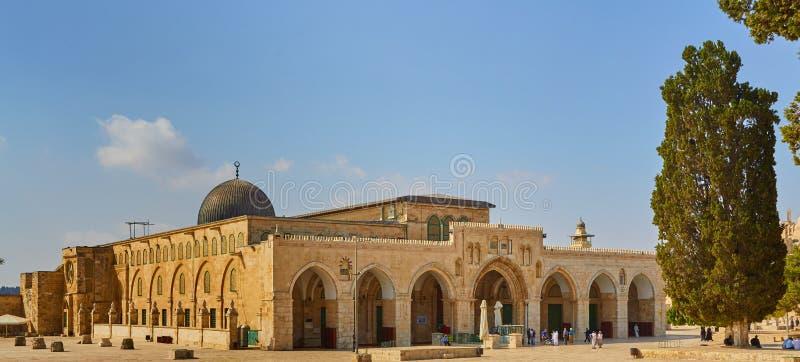 Moskee van Al Aqsa Jerusalem royalty-vrije stock foto's