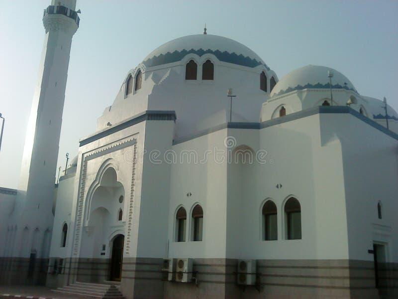 Moskee van moskees in Saudi-Arabië royalty-vrije stock afbeeldingen