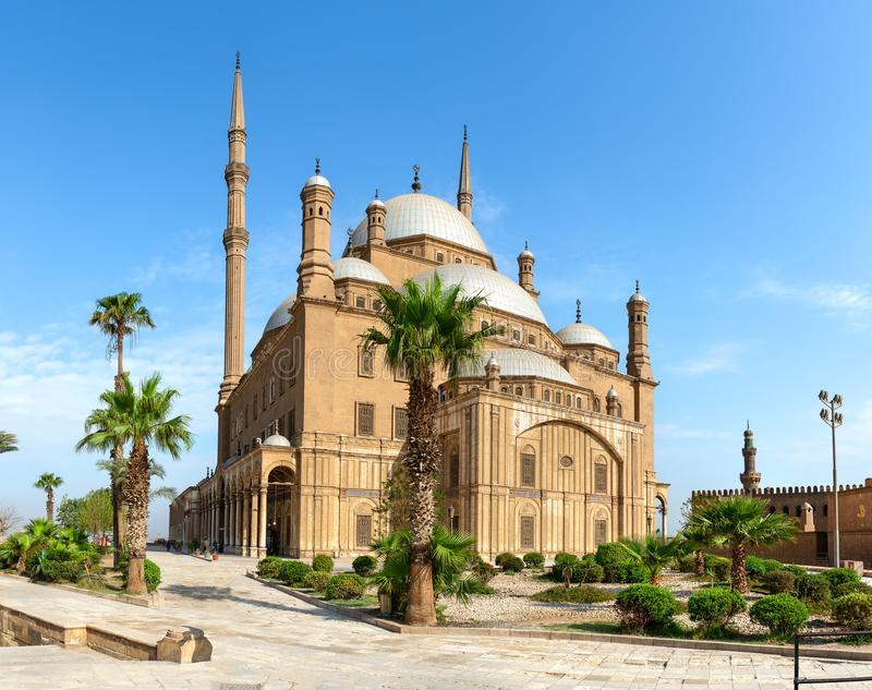 Moskee van Muhammad Ali stock foto