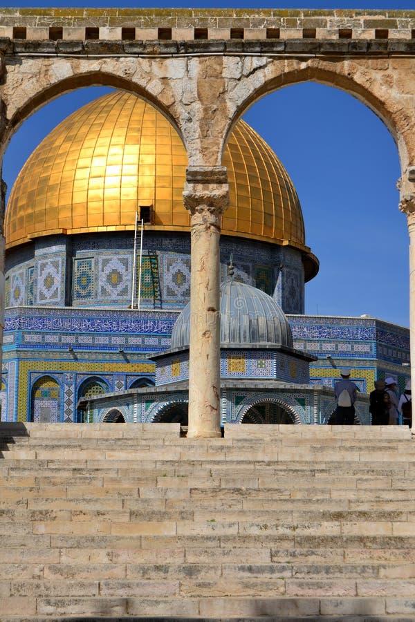 Moskee van Omar stock foto's
