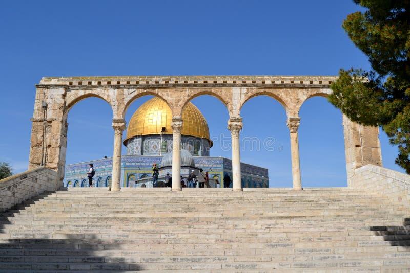 Moskee van Omar stock afbeeldingen