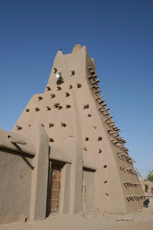 Moskee van Sankoré stock fotografie