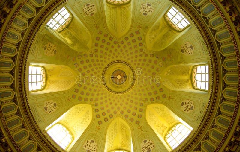 Moskee van Schwetzingen Kasteel, Duits Heidelberg, royalty-vrije stock afbeelding