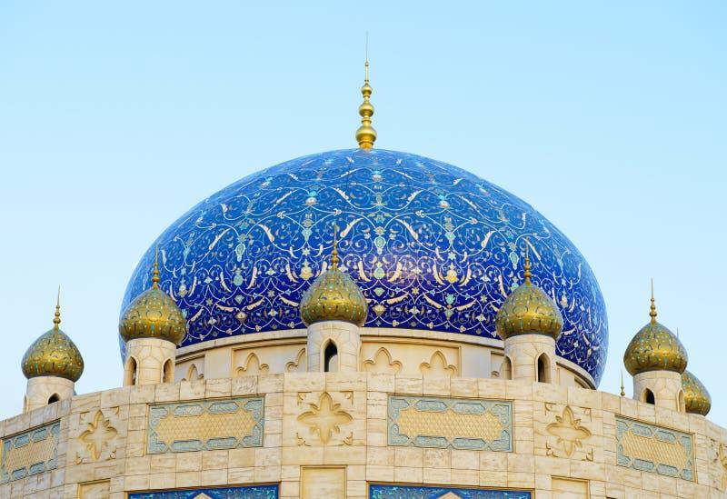 Moskeekoepel royalty-vrije stock afbeeldingen