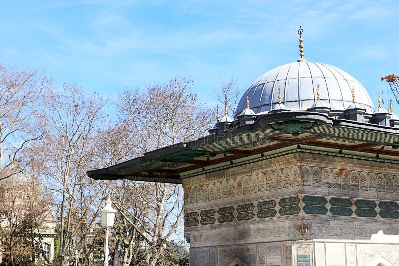 Moskees en Blauwe Hemel royalty-vrije stock foto