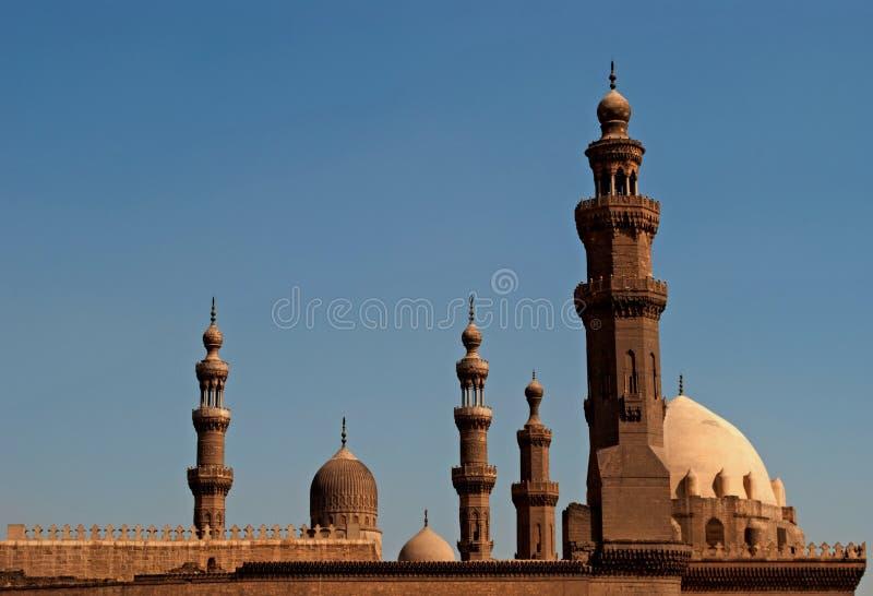 Moskees in Oud Kaïro royalty-vrije stock afbeeldingen