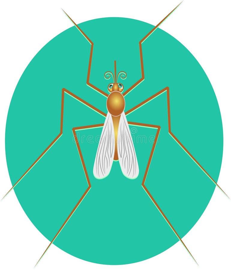 Download Moskito stock abbildung. Bild von insekte, malaria, wildnis - 41427