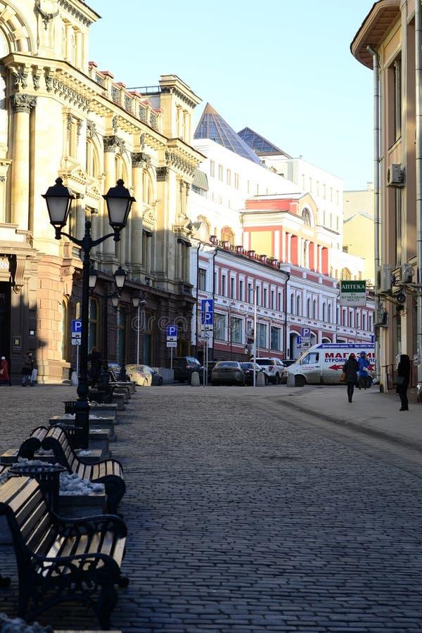 Moskou, de zomer royalty-vrije stock afbeeldingen