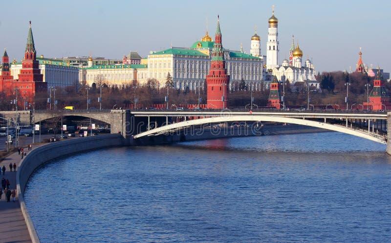 Moskou, het Kremlin royalty-vrije stock afbeeldingen