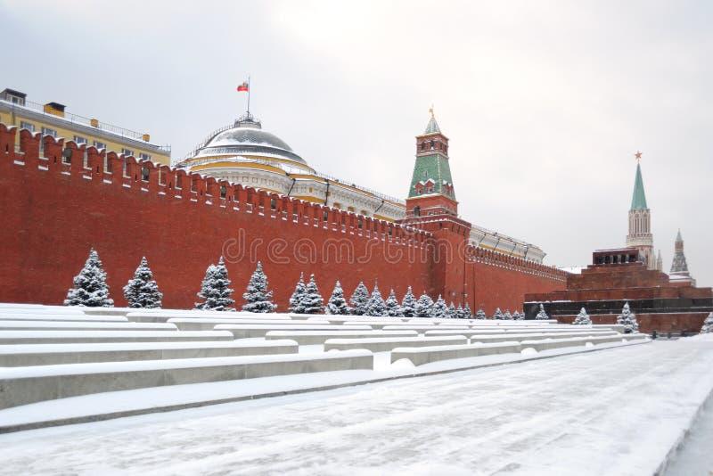 Moskou. Het Kremlin royalty-vrije stock fotografie