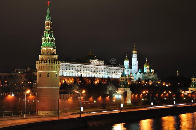 Moskou het Kremlin. stock fotografie