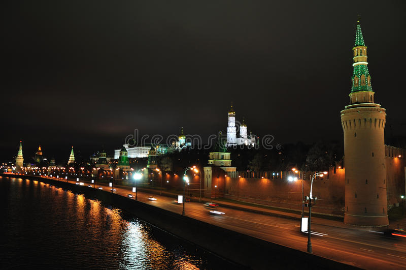 Moskou het Kremlin. stock foto