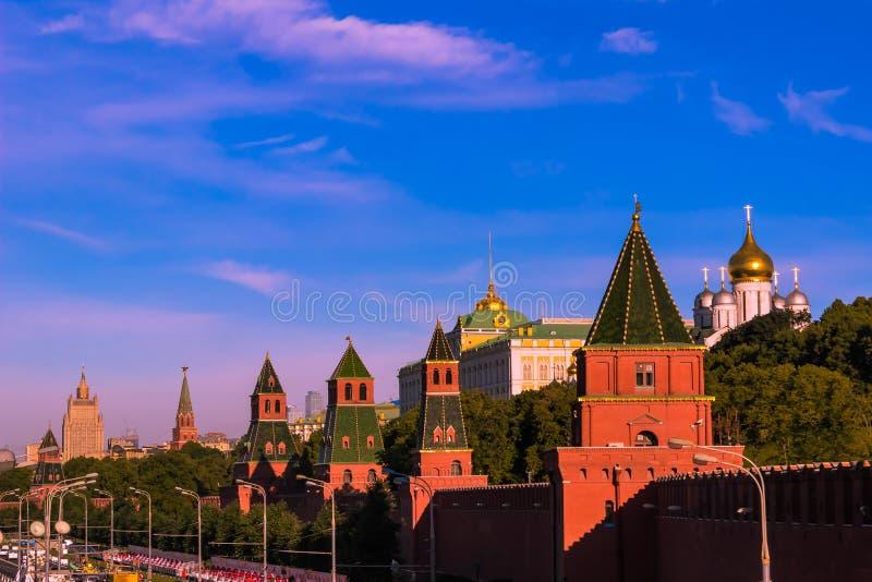 Moskou het Kremlin stock foto
