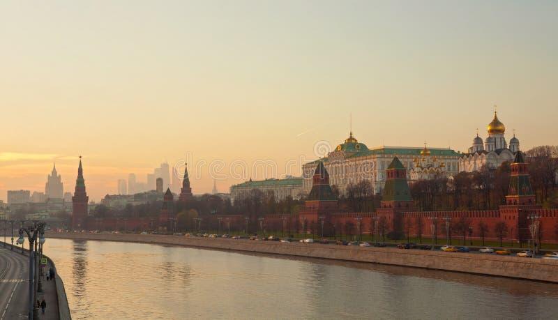 Moskou het Kremlin stock afbeelding