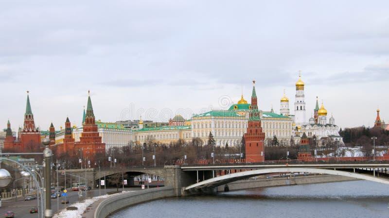 Moskou het Kremlin. Rusland royalty-vrije stock fotografie
