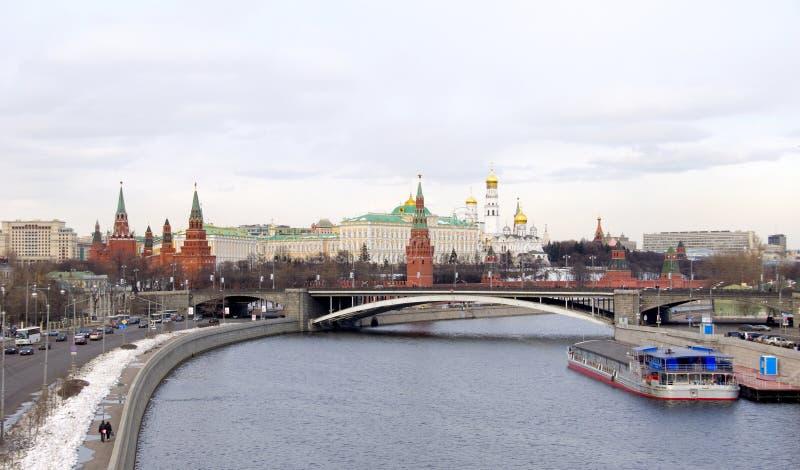 Moskou het Kremlin. Rusland royalty-vrije stock foto