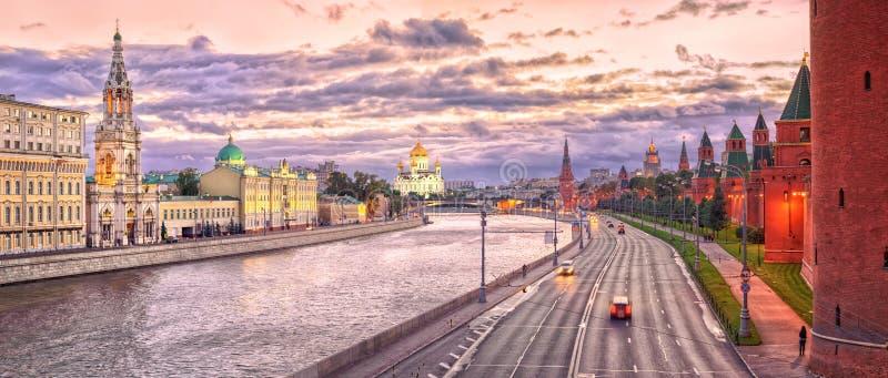 Moskou het Kremlin, Rusland stock afbeeldingen