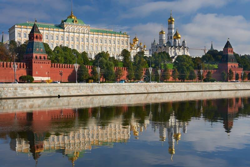 Moskou het Kremlin, Rusland royalty-vrije stock afbeeldingen