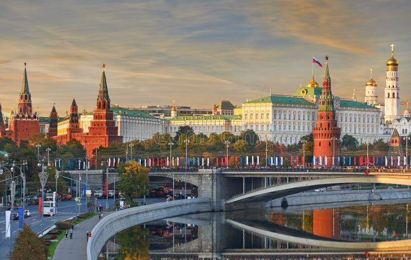 Moskou het Kremlin, Rusland stock fotografie