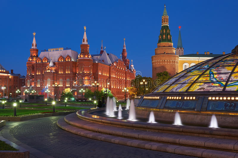 Moskou het Kremlin, Rusland royalty-vrije stock foto