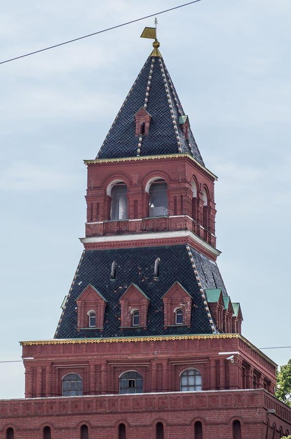 Moskou het Kremlin in Rusland royalty-vrije stock foto