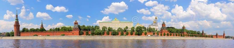 Moskou het Kremlin, Moskou, Rusland stock afbeelding