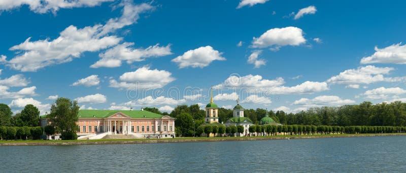 Moskou. Kuskovo royalty-vrije stock afbeeldingen