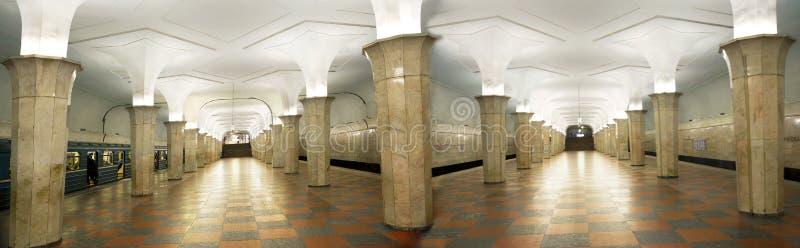 Moskou Metro Post Kropotkinskaya Redactionele Foto - Afbeelding ...