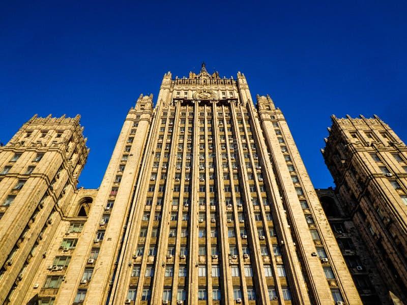 Moskou, Ministerie van buitenlandse zaken royalty-vrije stock foto's