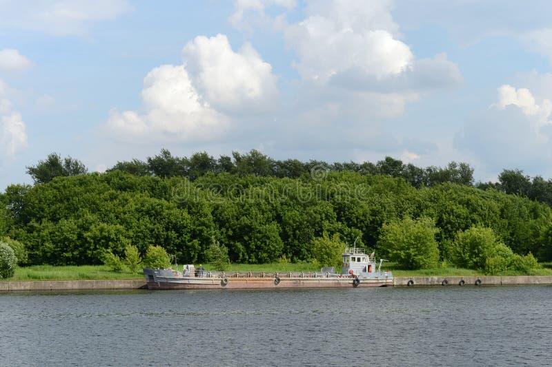 Moskou - rivier royalty-vrije stock afbeelding