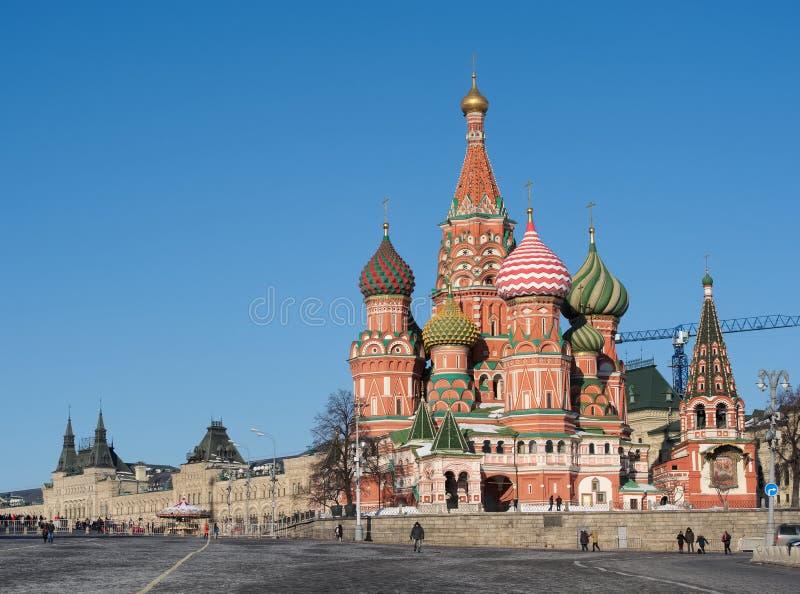 Moskou, Rood Vierkant stock foto's