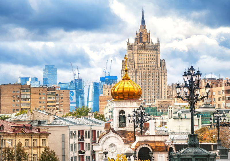 Moskou, Rusland royalty-vrije stock afbeelding