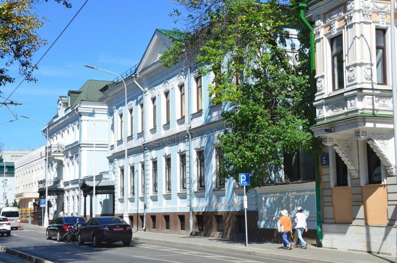 Moskou, Rusland, 12 Augustus, 2018 E I r r royalty-vrije stock fotografie