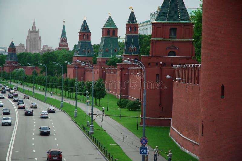 Moskou, Rusland, het Kremlin stock foto