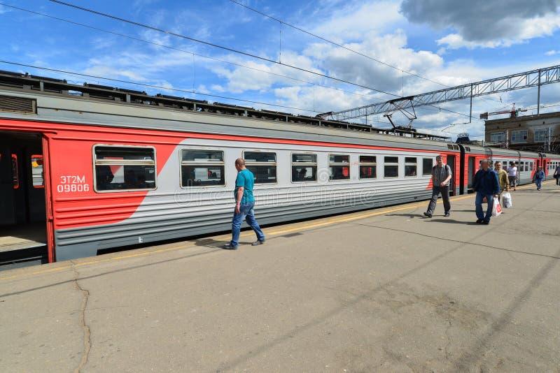 MOSKOU, RUSLAND - 17 06 2015 Leid een groot Rus op royalty-vrije stock afbeelding